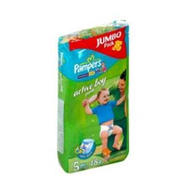 Трусики Pampers Active Boy 12-18 кг 48 шт. jumbo, размер 5