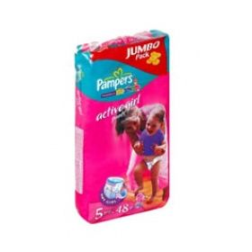 Трусики Pampers Active Girl 12-18 кг 48 шт. jumbo